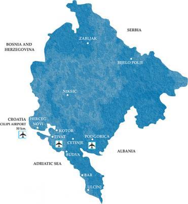 Border Crossings Montenegro