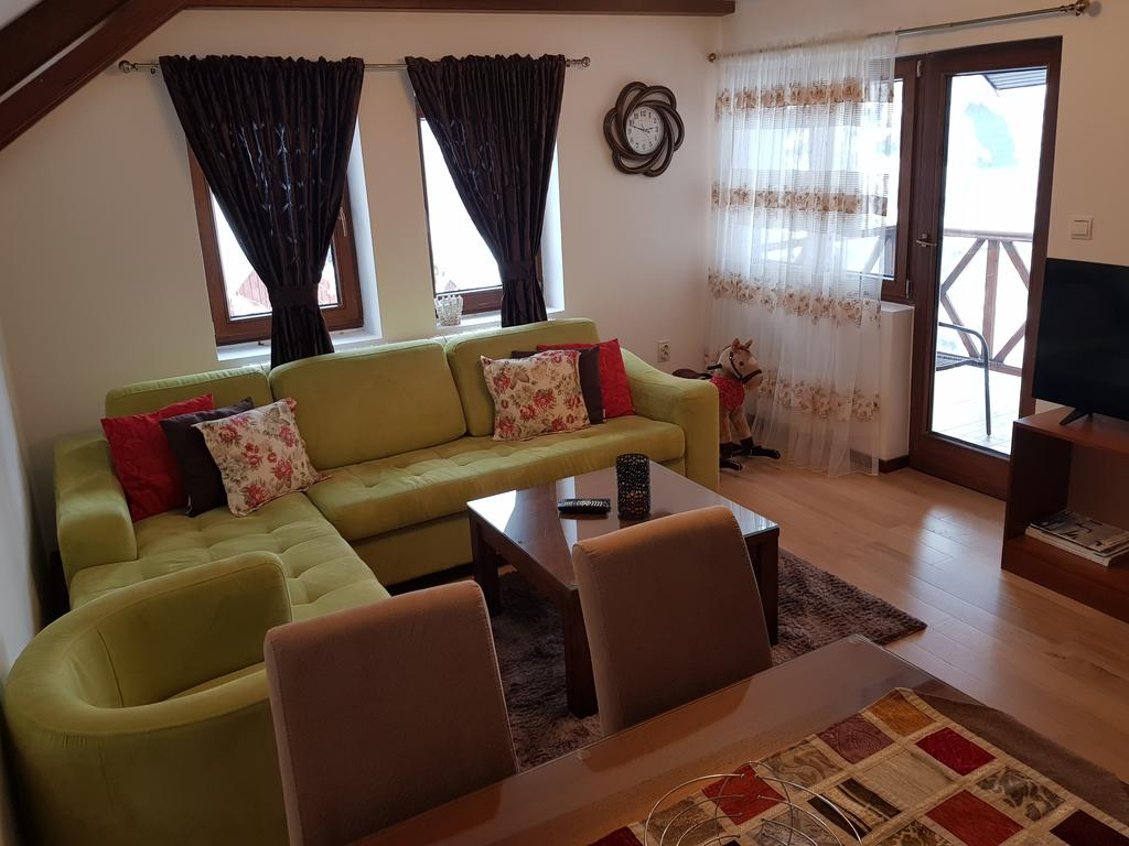 woonkamer met sofabed