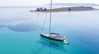 eiland Krknjas zeilen Split