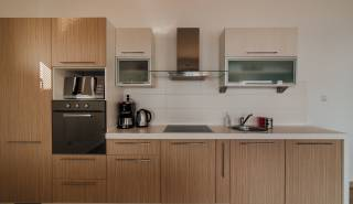 volledig ingerichte keuken