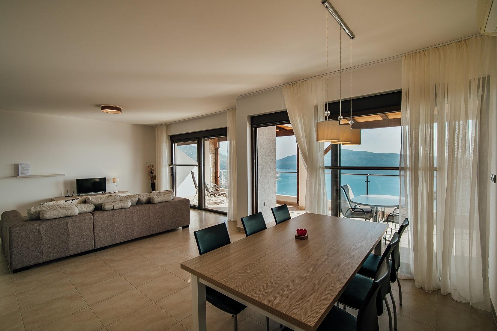 dining living balkon